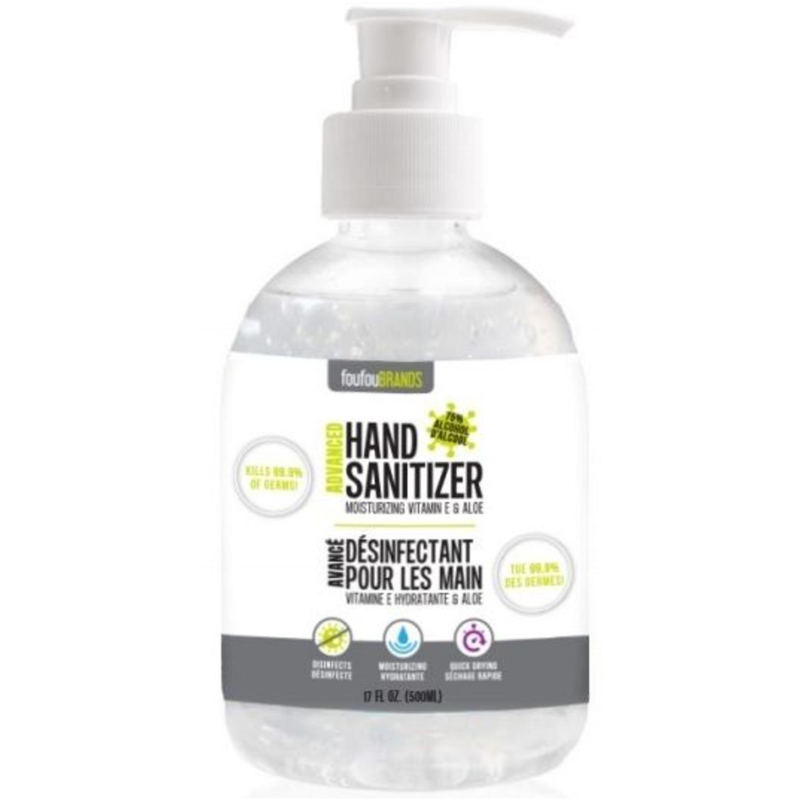FouFou Brand Advanced Hand Sanitizer-500 ml