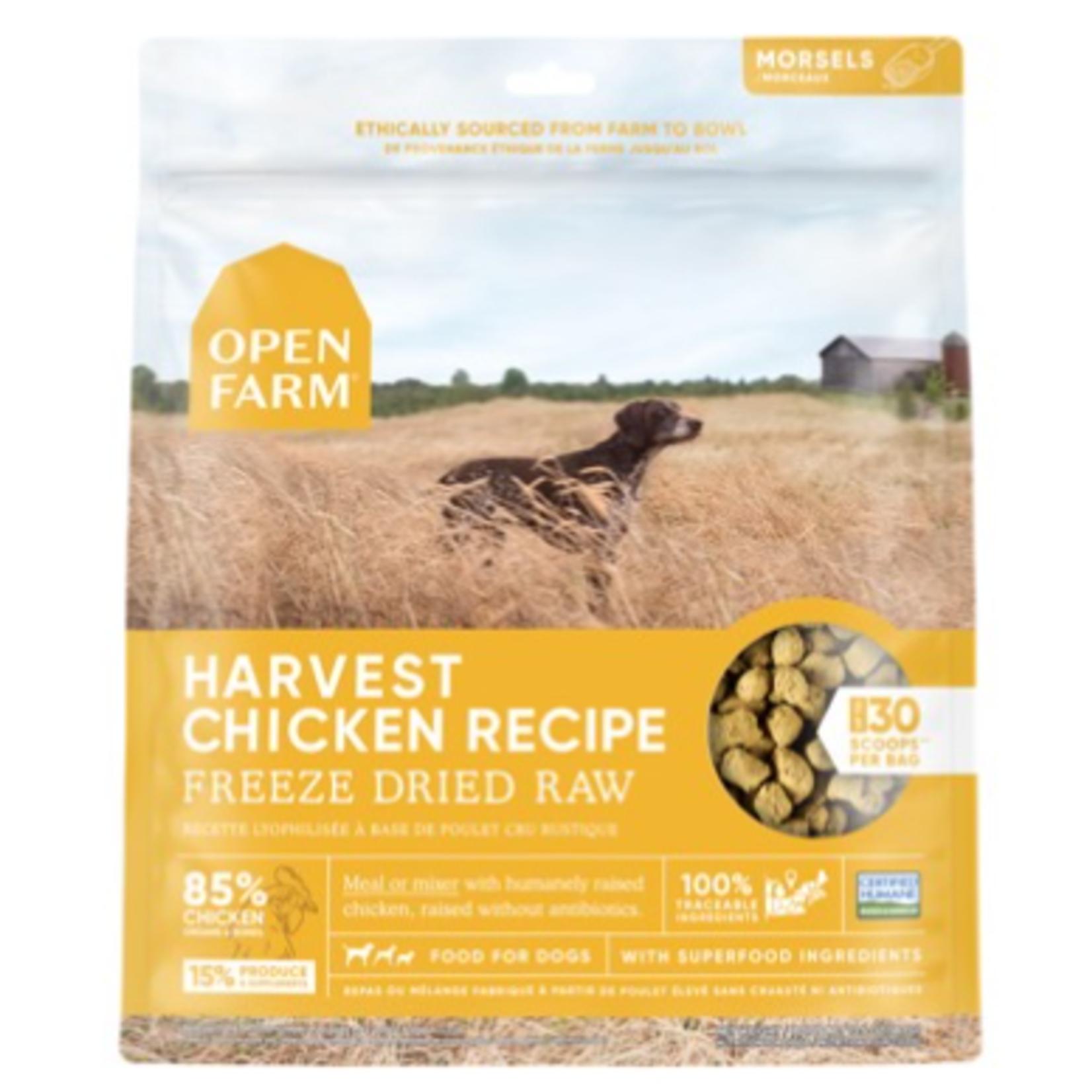 Open Farm Chicken Morsels-Freeze Dry Raw-3.5 oz