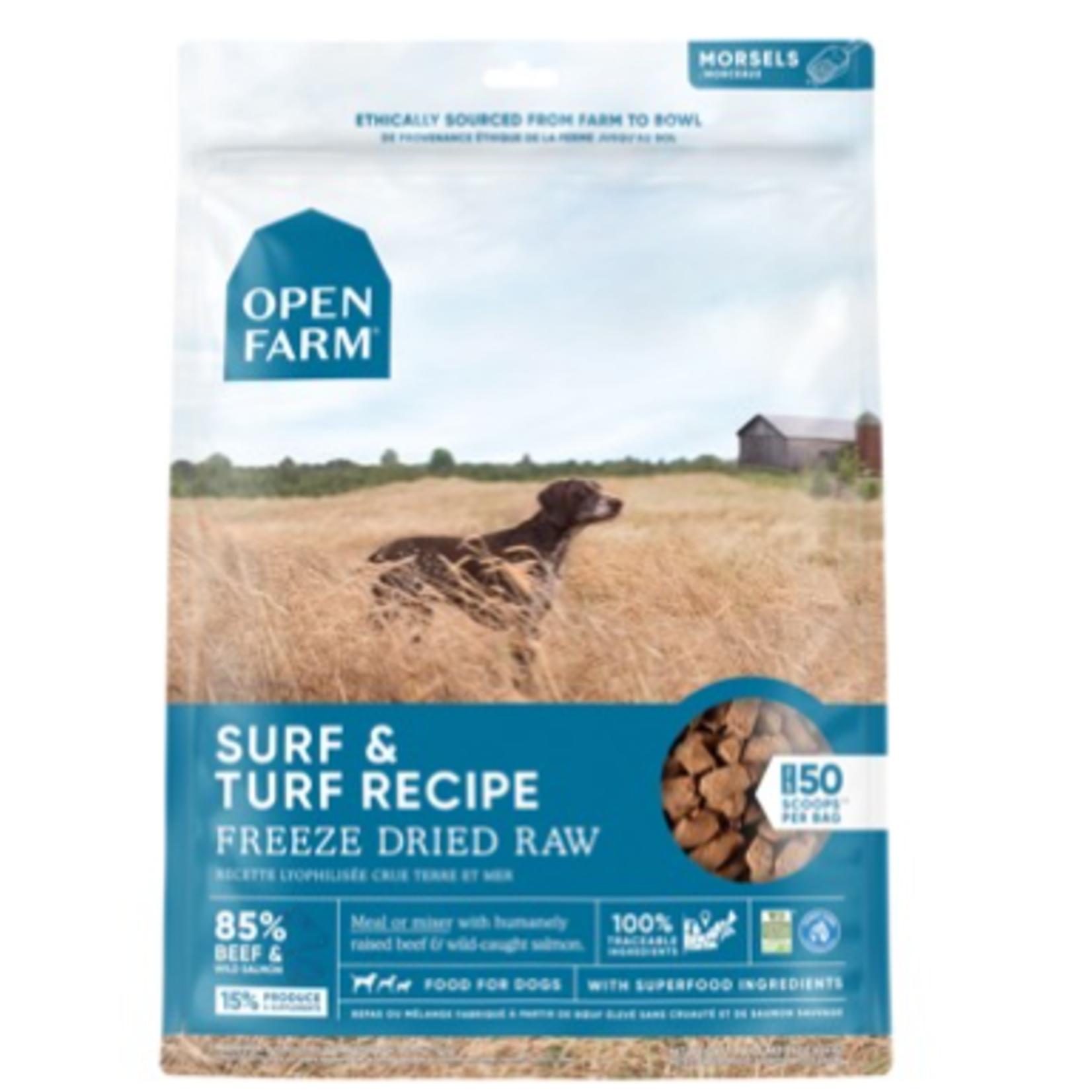 Open Farm Surf & Turf-Freeze Dry Raw-13.5 oz