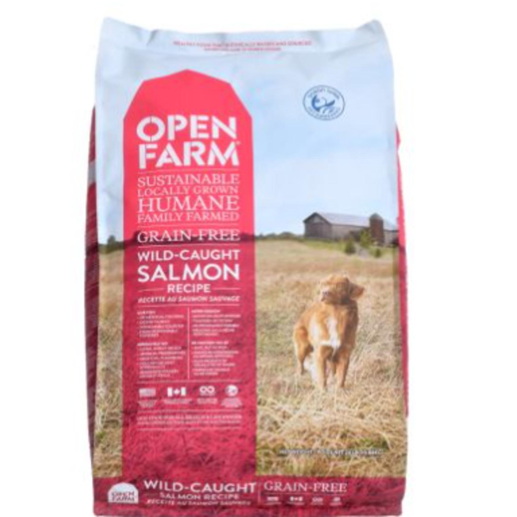 Open Farm Wild-Caught Salmon-dry food-dog