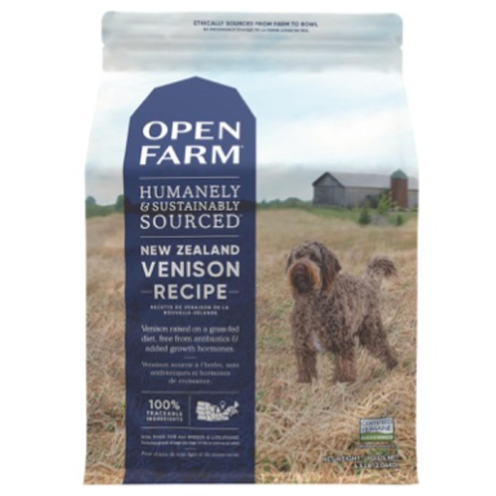 Open Farm New Zealand Venison-Dry Food-Dog