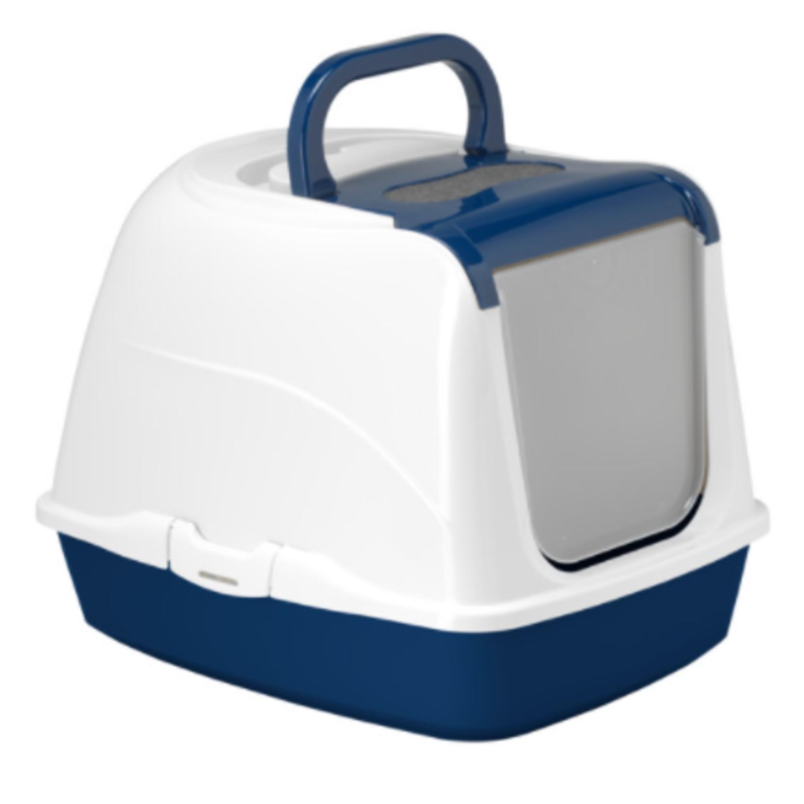 Moderna Litter Box-Flip Cat-Large-Blue Berry