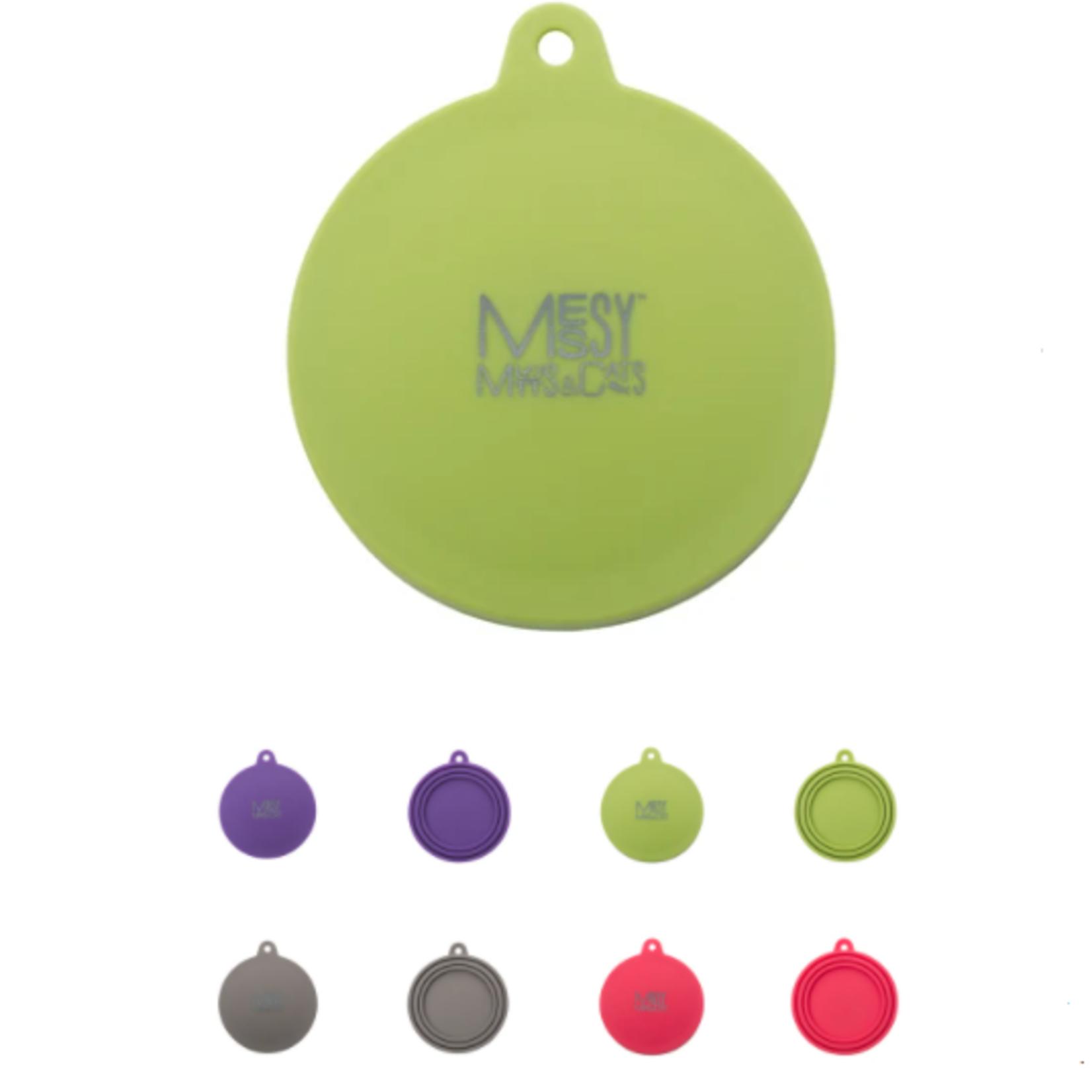 """Messy Mutts Couvercle universel en silicone pour conserve, convient à 2,5"""" à 3,3"""""""