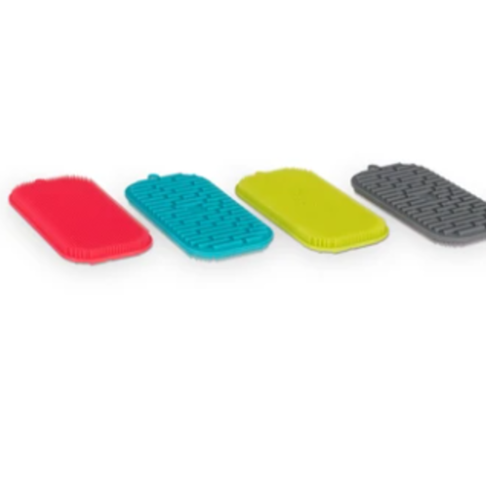 """Messy Mutts Silicone Dual Sided Bowl Scrubber, 5"""" x 2.5"""""""