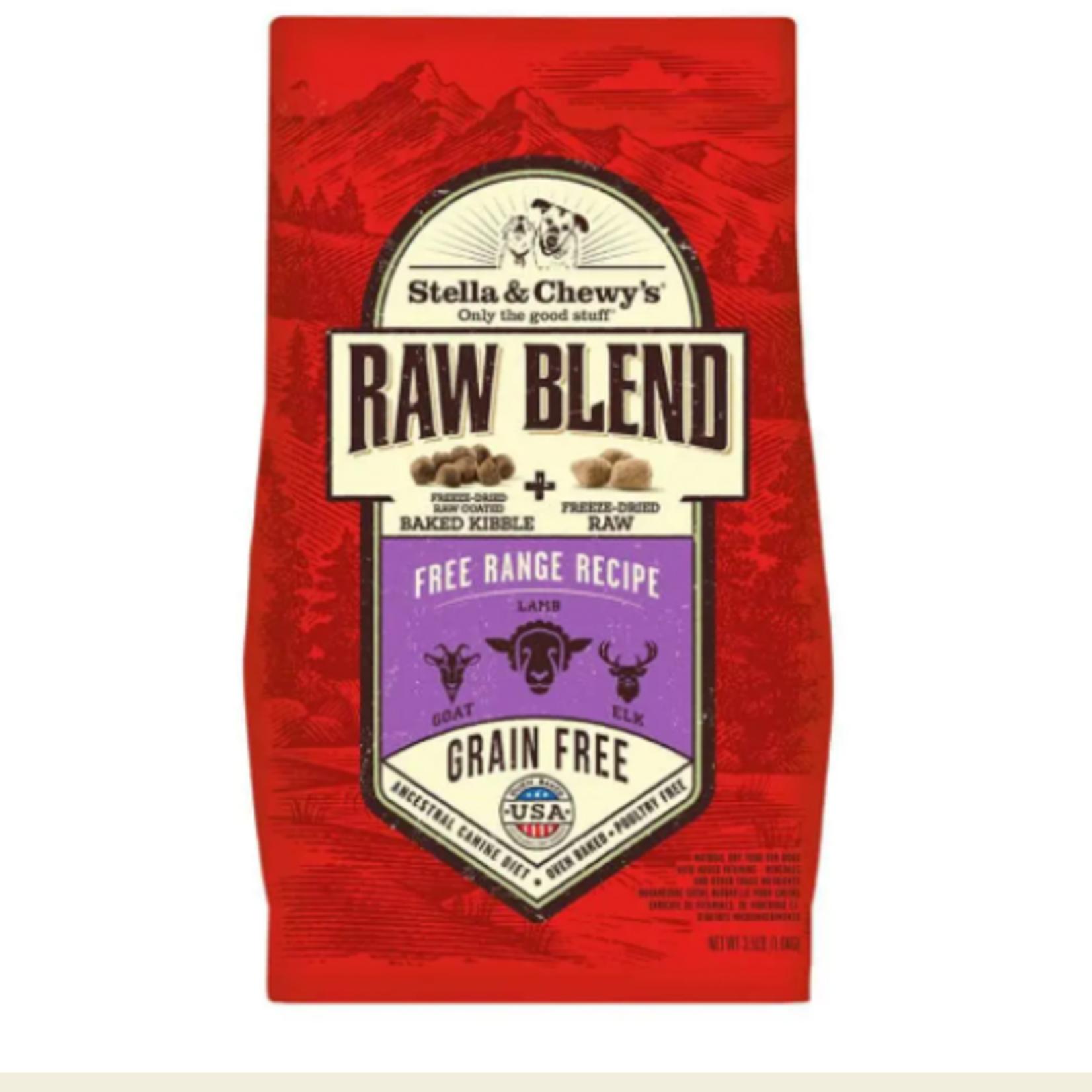 Stella & Chewy s Free Range-RAW BLEND-3.5 lbs