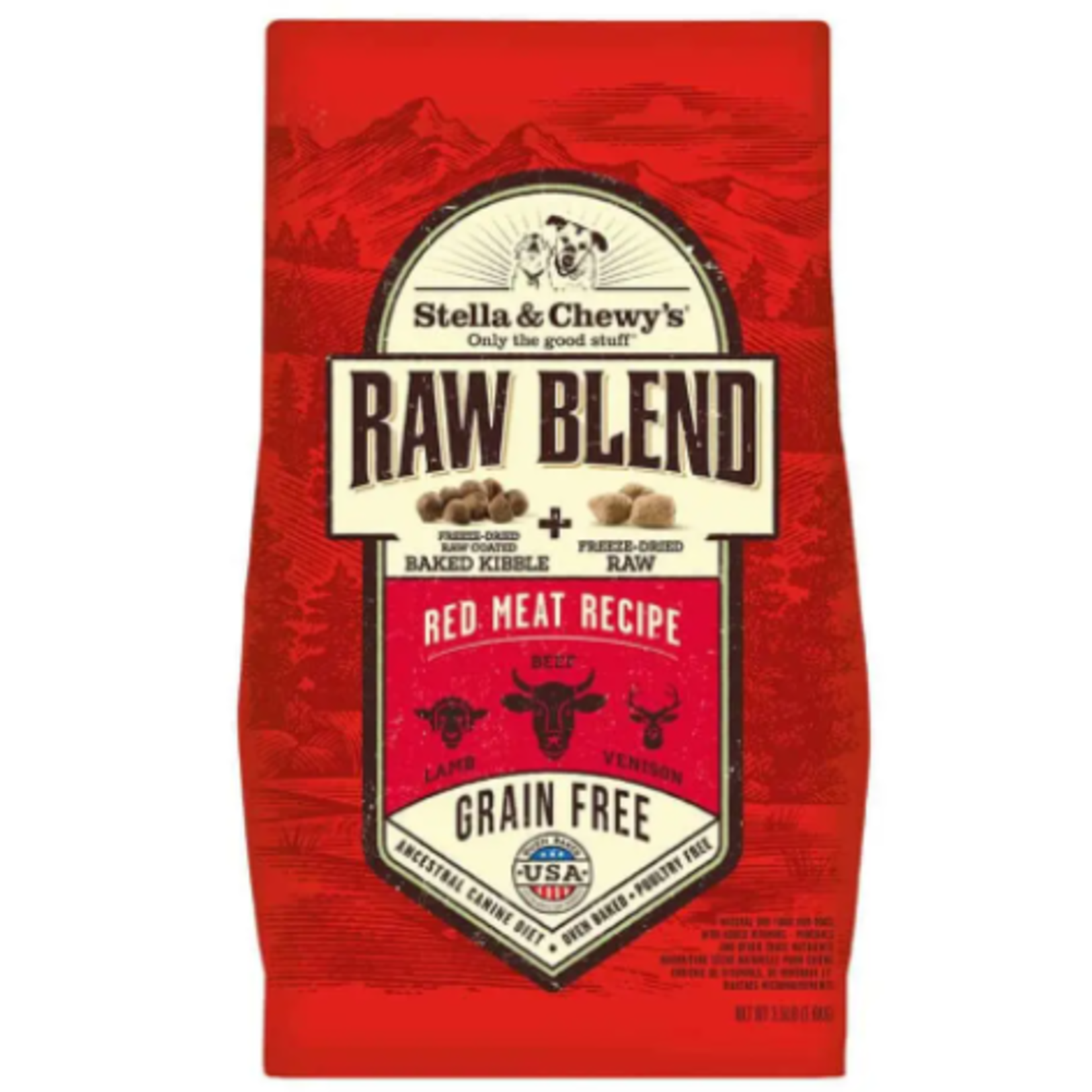 Stella & Chewy s Red Meat-RAW BLEND 10 lbs