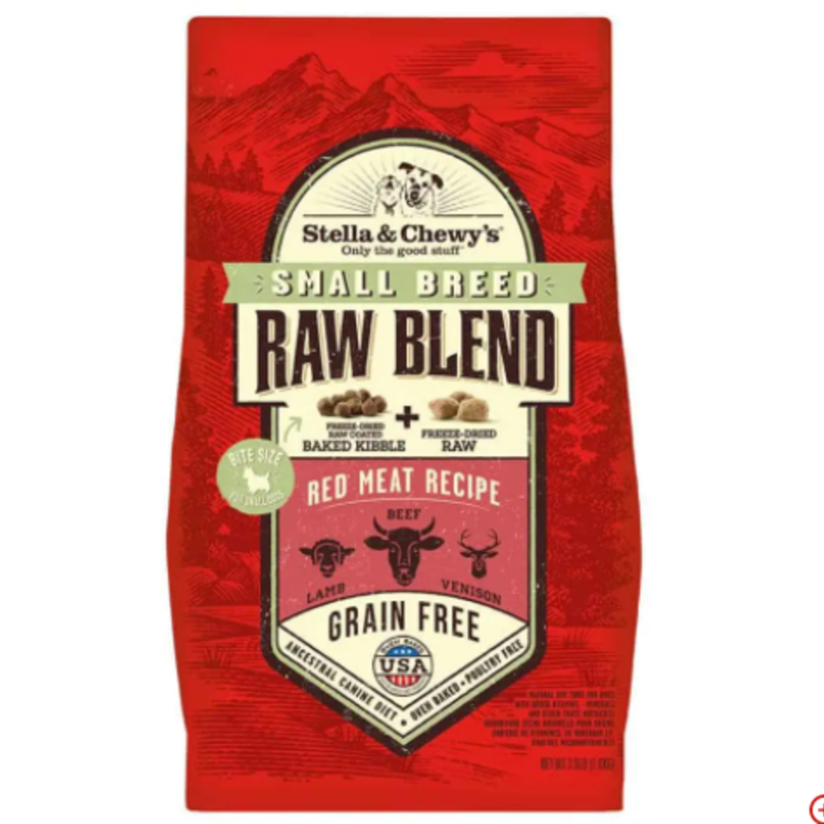 Stella & Chewy s Red Meat - Dog dry food - RAW BLEND 10 lbs