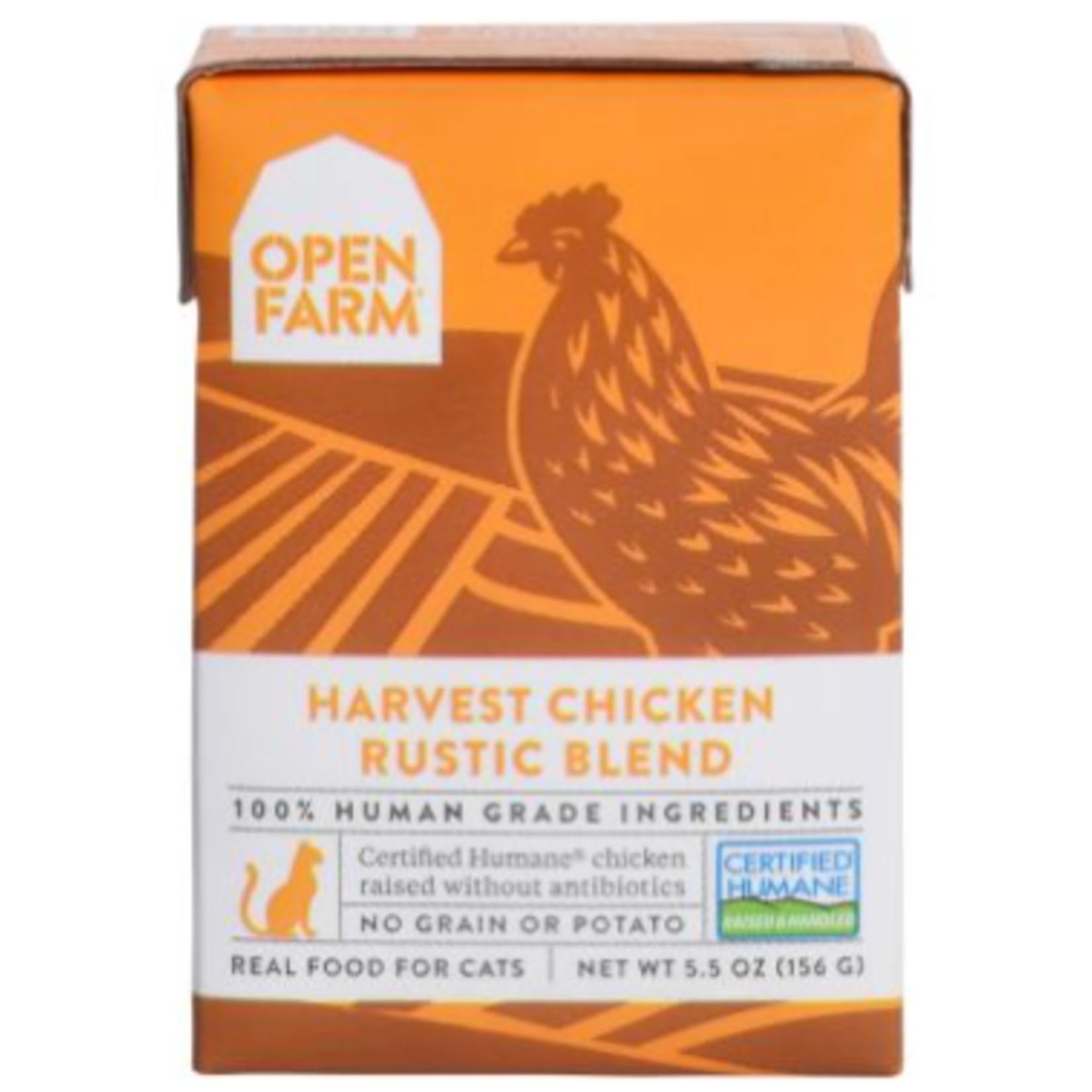 Open Farm Harvest Chicken Rustic Blend-5.5 oz