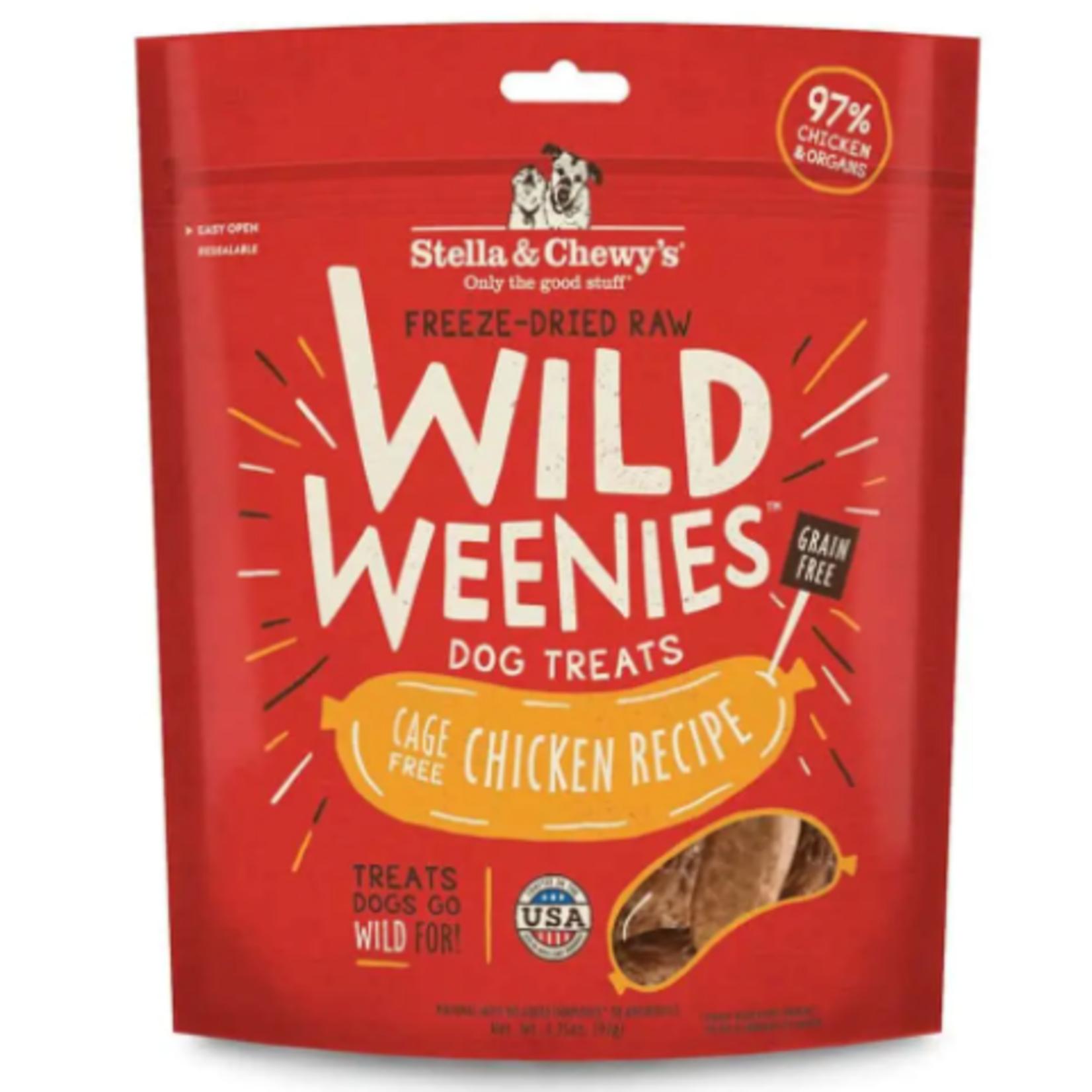 Stella & Chewy s Freeze Dry RAW-Chicken- Wild Weenies - 3.25oz