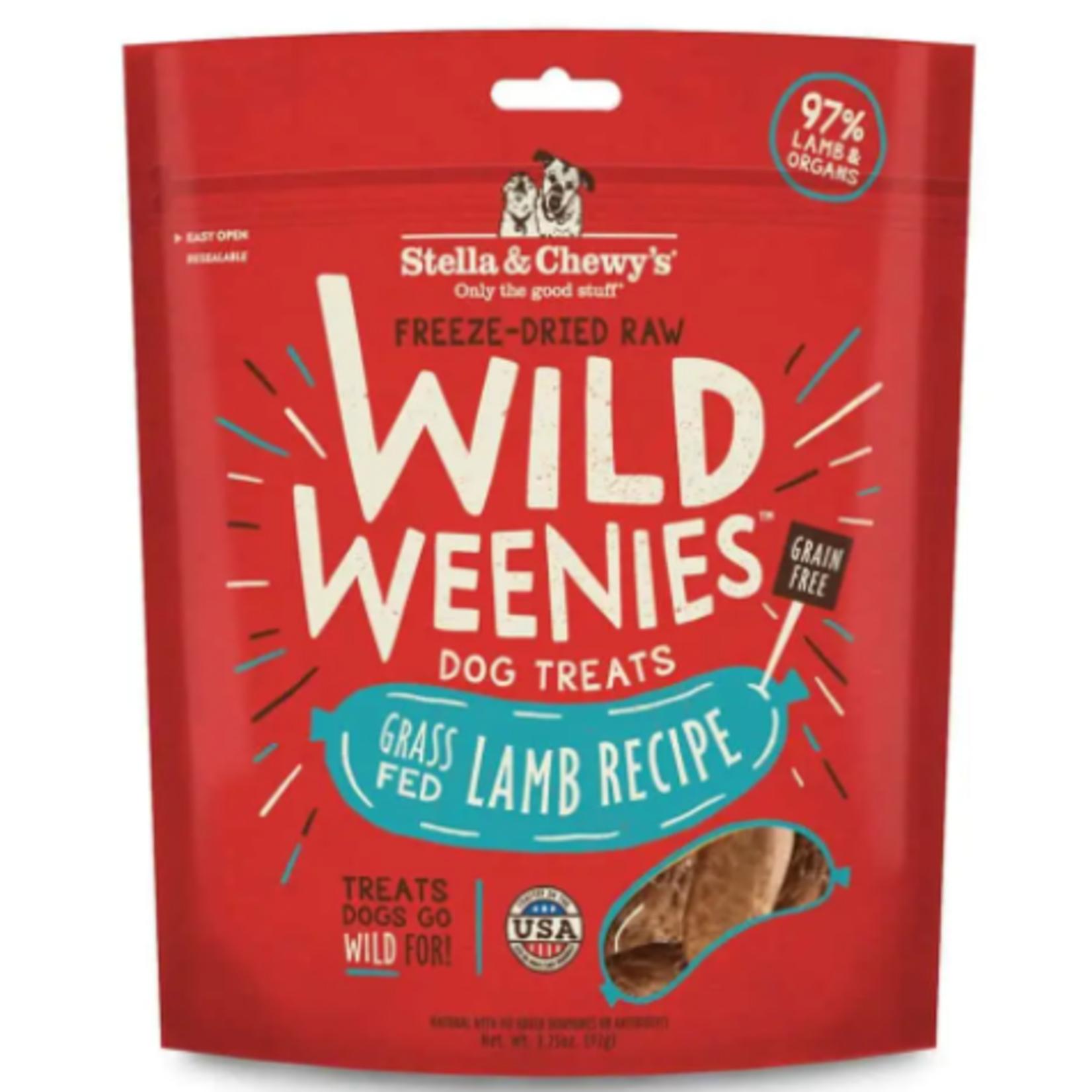 Stella & Chewy s Freeze Dry RAW-Lamb Recipe-Wild Weenies - 3.25oz