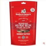 Stella & Chewy s Cru séché à froid-Dîner de Galettes de Viande rouge-5.5oz