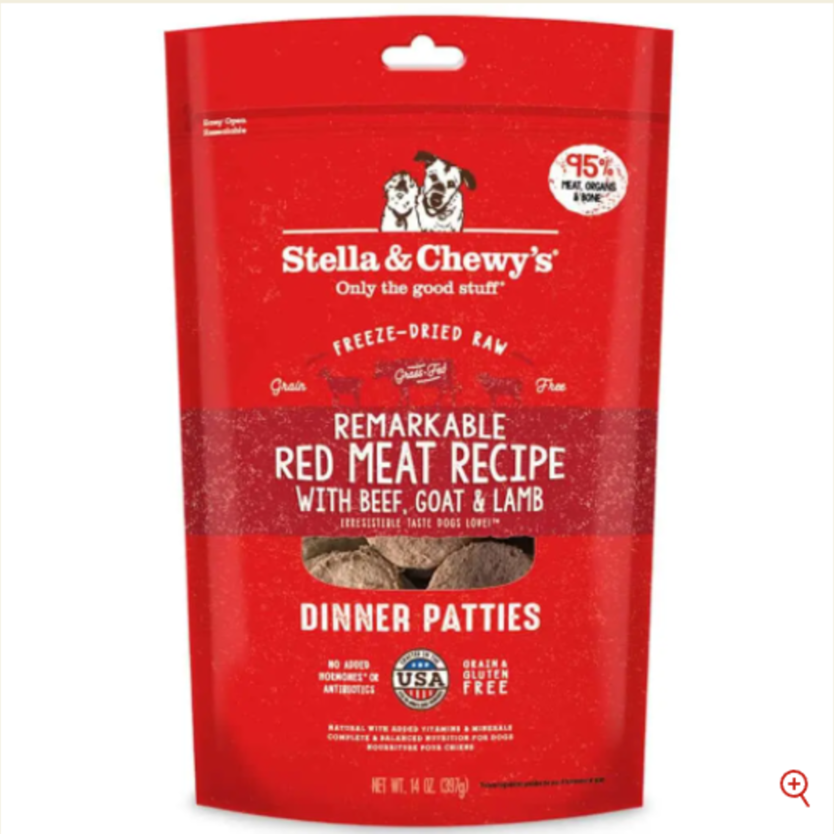 Stella & Chewy s Freeze Dry RAW-Red Meat Dinner Patties-5.5oz