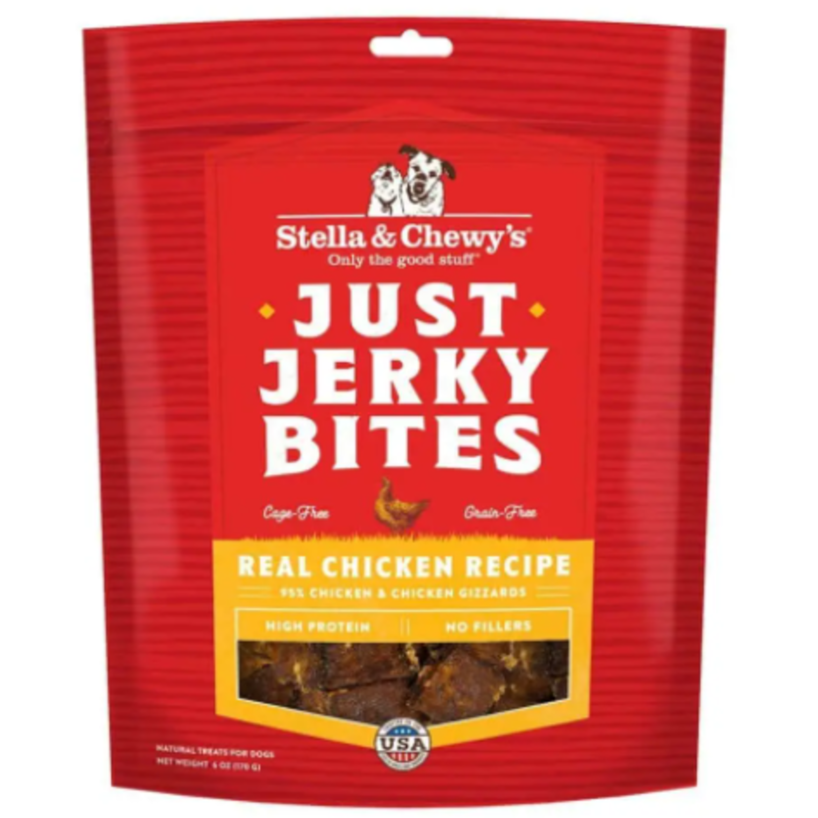 Stella & Chewy s Just Jerky Bites - Real Chicken Recipe - 6 oz