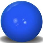Hunter Brand Meilleure balle pratiquement indestructible-4,5 po orange pas bleu