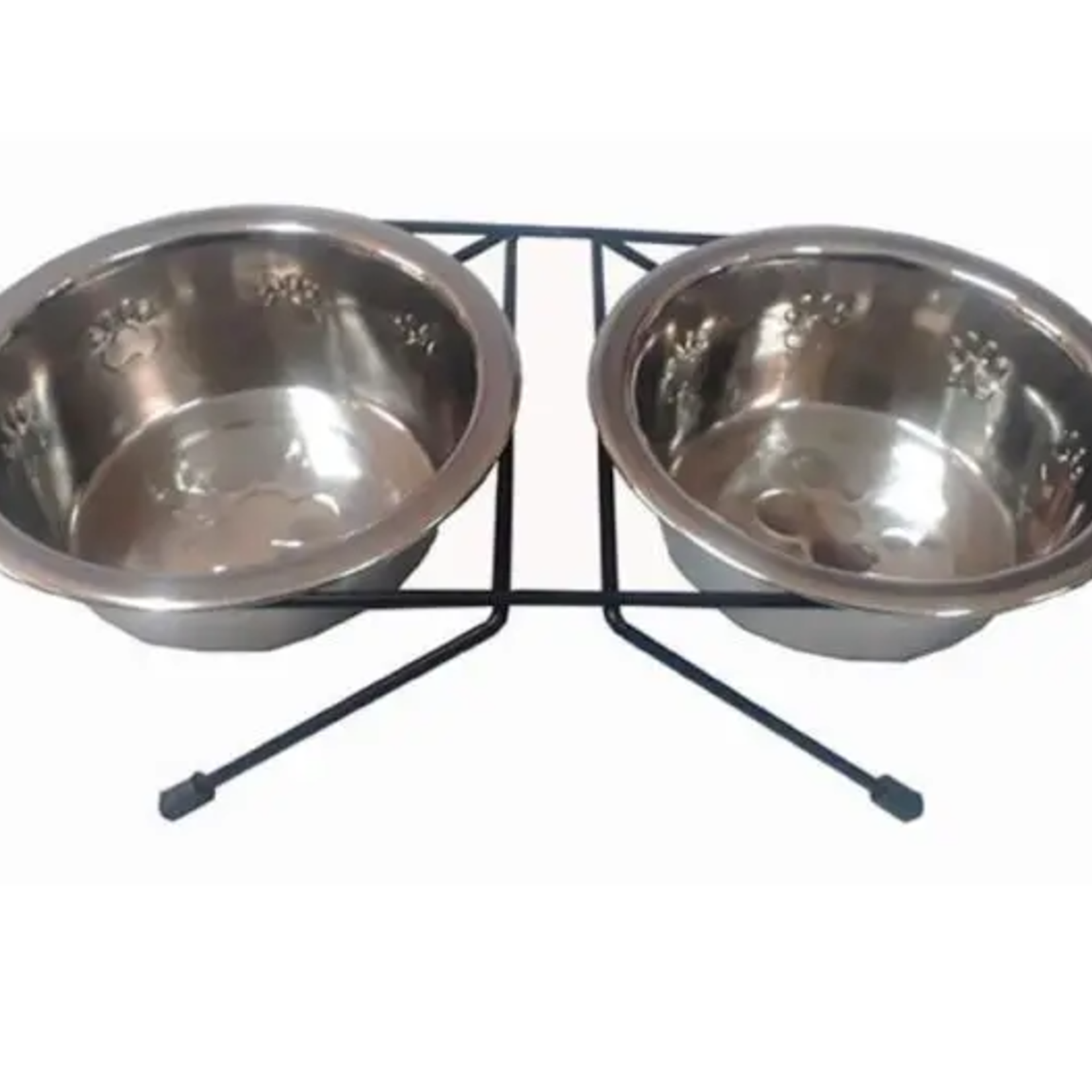 Hunter Brand Double stainless steel bowl