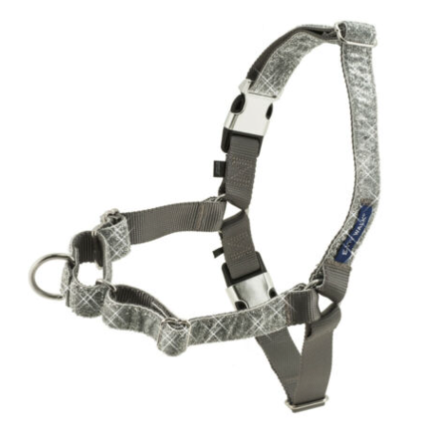 Pet Safe Harness Small/15 -20 in- Bling Silver Easy Walk