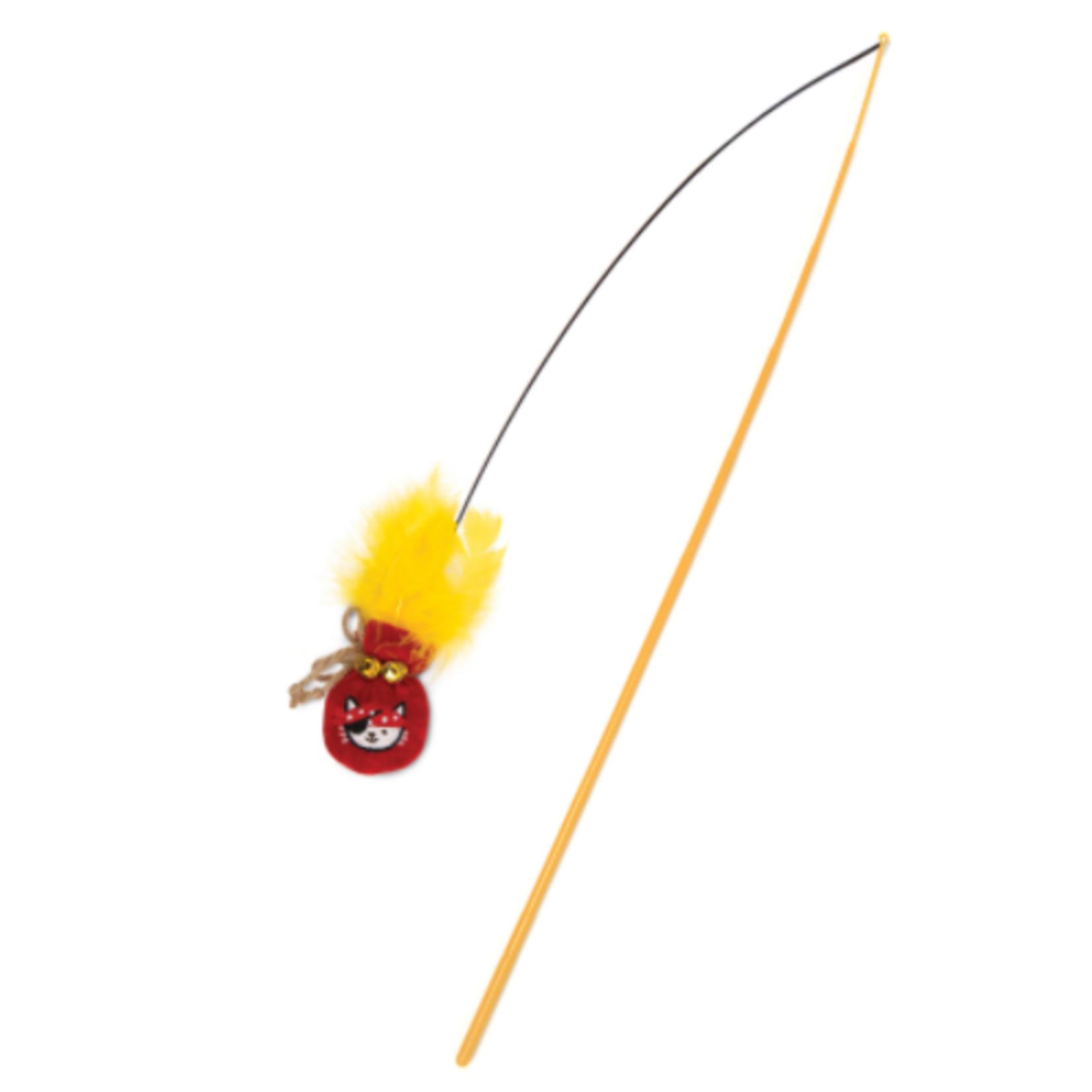 Catit Play Pirates Catnip Wand - Gold Pouch