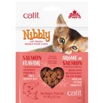 Catit Friandises pour chat Nibbly - Saveur de saumon - 90 g (3,2 oz)