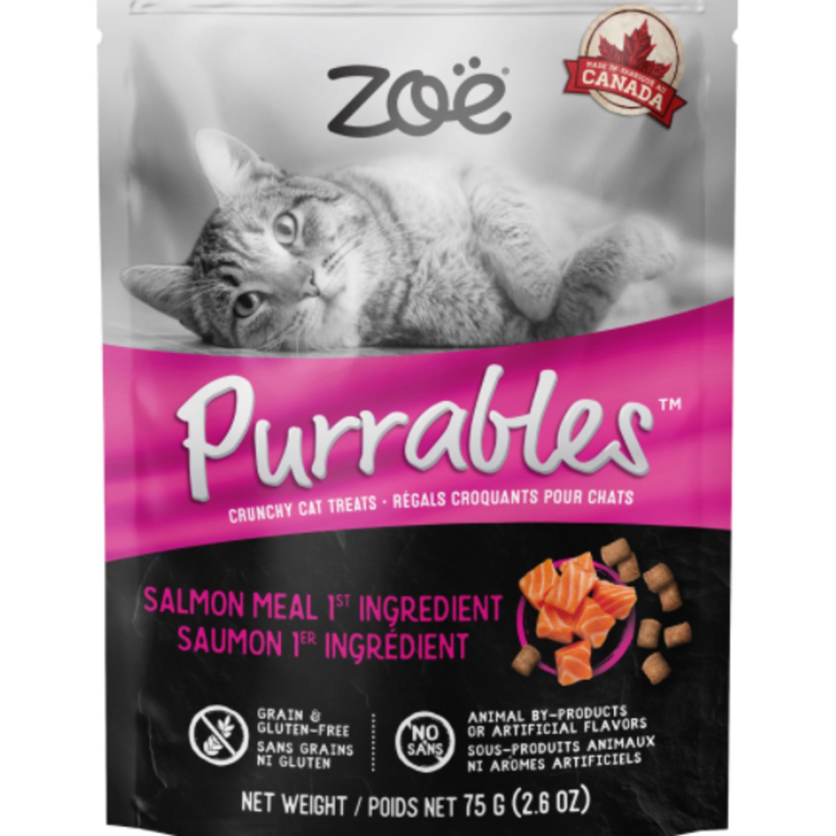 Purrables Cat Treats - Salmon - 75 g (2.6 oz)
