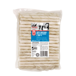 Dogit White Natural Beefhide Chew Stick, 7-8mm x 12.5 cm-sold individually