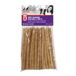 Dogit Rawhide Chew Stick, twisted, 5-6 mm x 12.5 cm-50 pieces