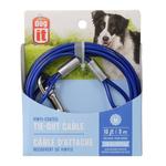 Dogit Câble d'attache - Bleu - Medium -10 pi