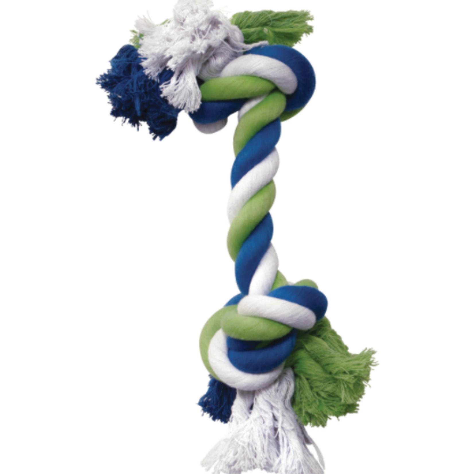 Dogit Corde nouée, corde multicolore, Medium