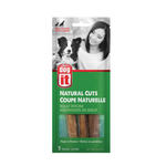 Dogit Natural Cuts Bully Sticks - 5-6in - 3 pack