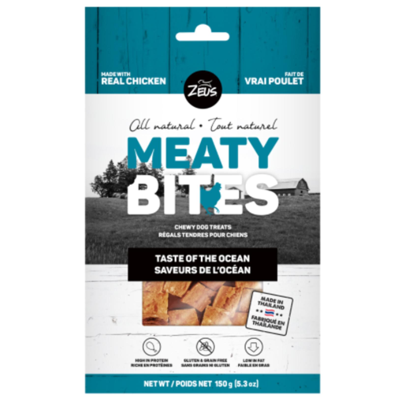 Zeus Meaty Bites, Taste of the Ocean, 150 g