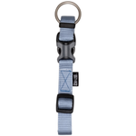 Zeus Collier Ajustable en Nylon- Bleu Bébé - Small - 1 x 22-30 cm