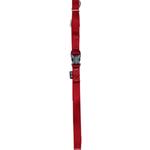 Zeus Nylon Leash - Deep Red - Medium - 4 ft
