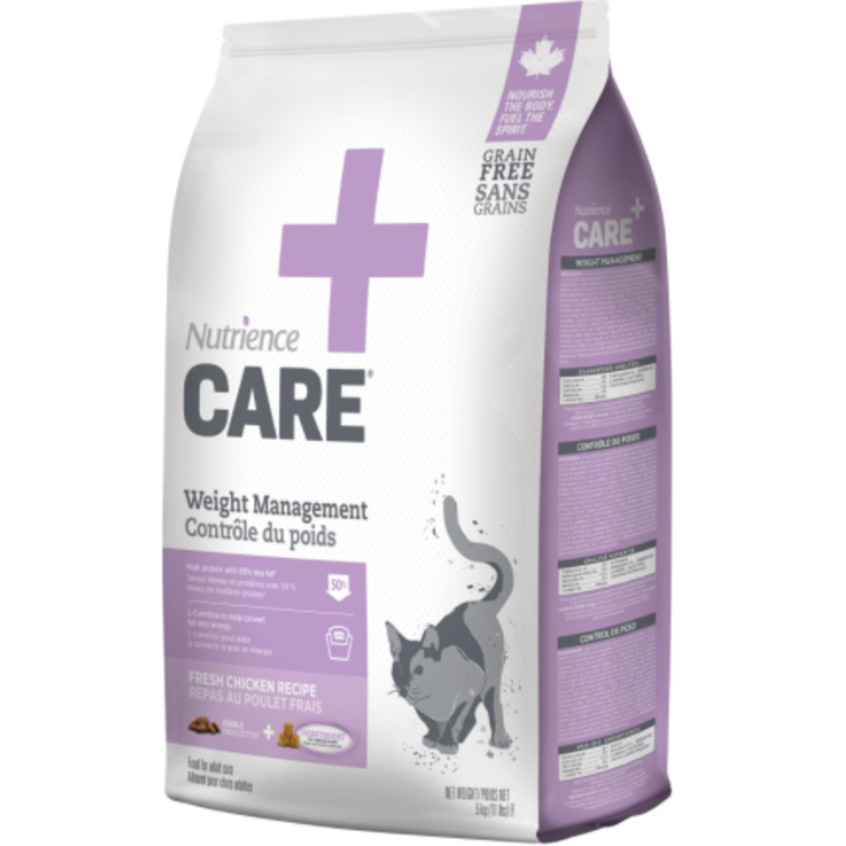 nutrience Care Weight Management for Cats - 5 kg (11 lbs)-Dry food