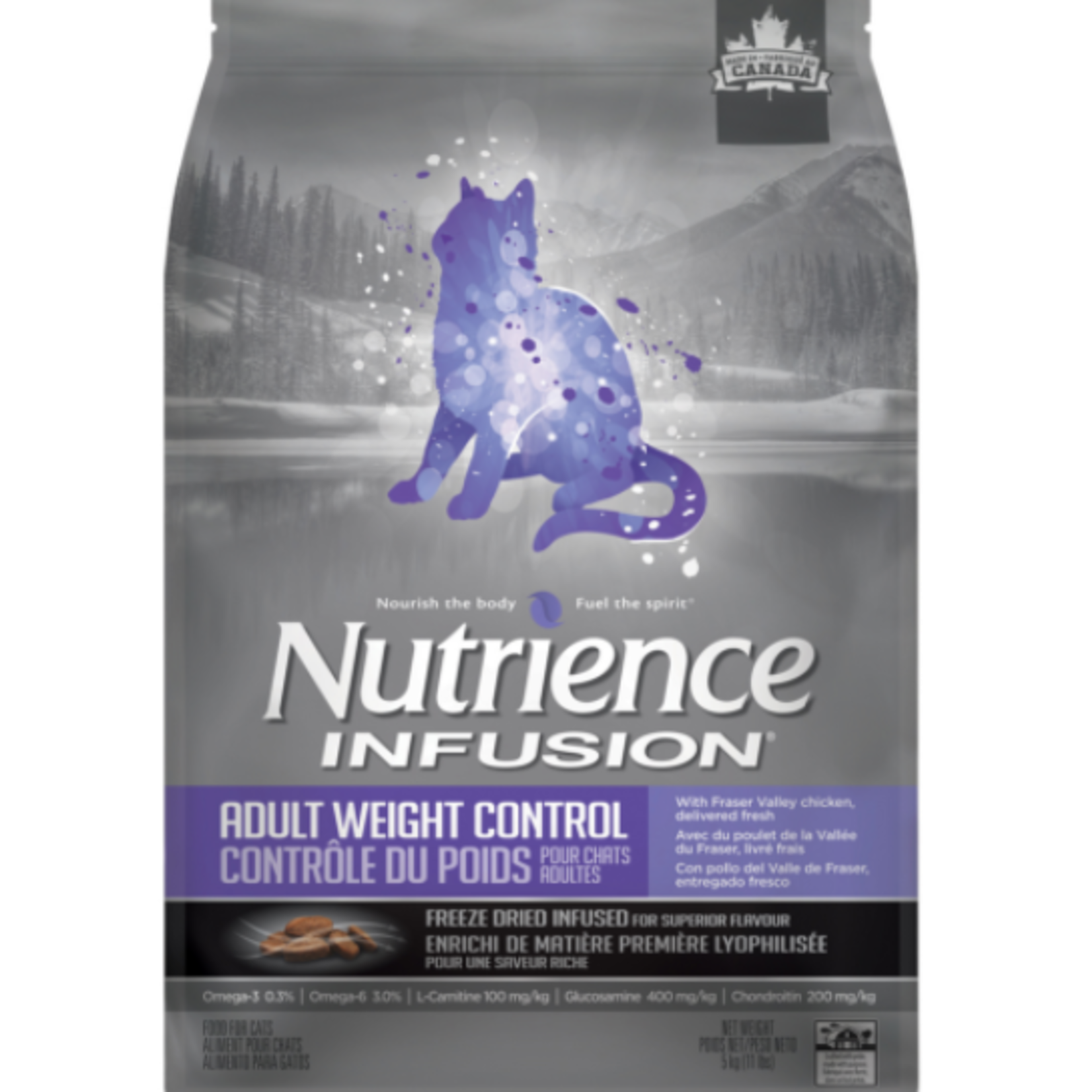 nutrience Infusion Weight Control - Chicken - 11 lbs - Dry food