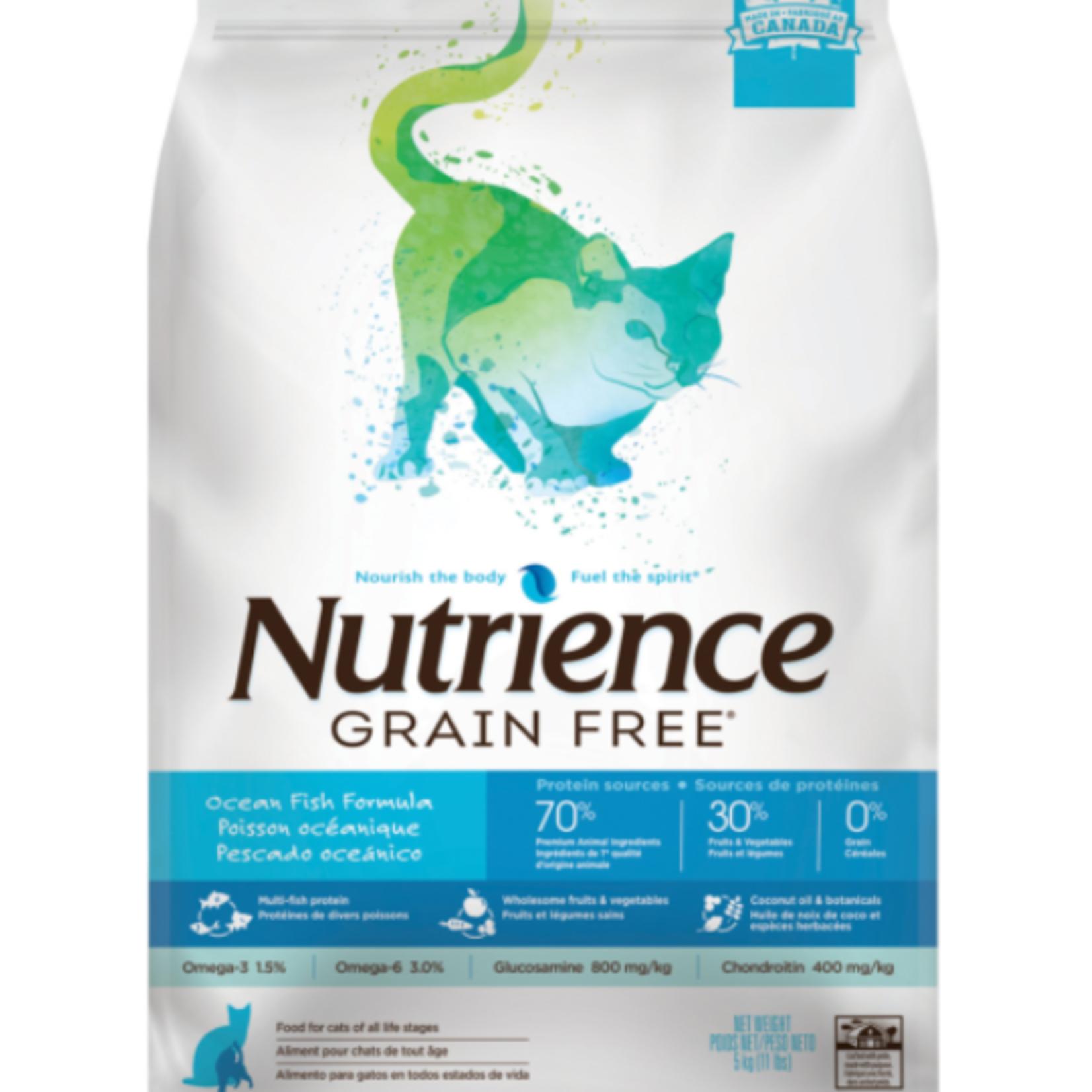 nutrience Ocean Fish - Grain Free - 11 lbs - Dry Food
