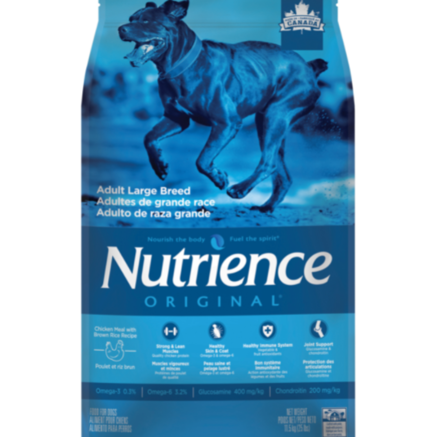 nutrience Chicken with Brown Rice - Original Large Breed - 25 lbs - Dry food