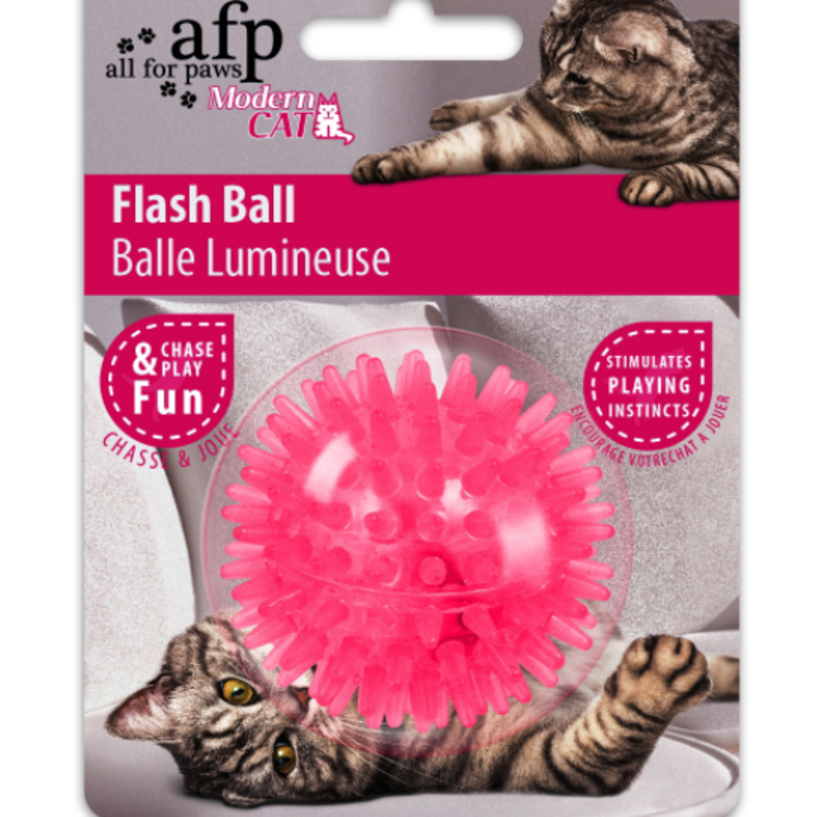 All for paws Balle éclair chat moderne