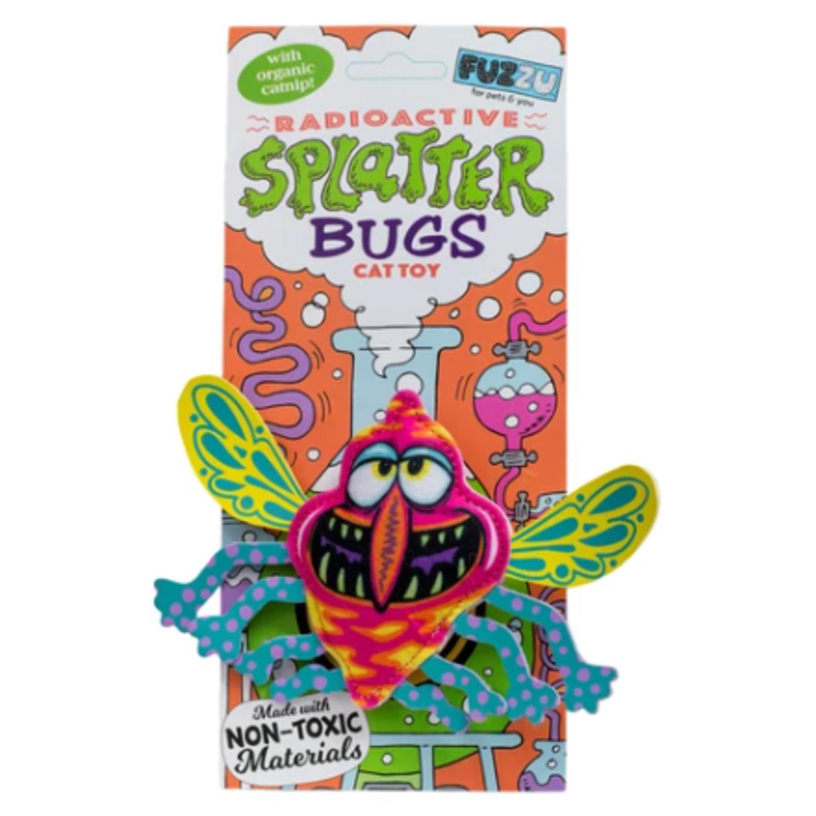 FUZZU Splatterbugs - Jouet pour chat Zinger