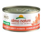 Almo Saumon avec Carottes en Bouillon - 70 g