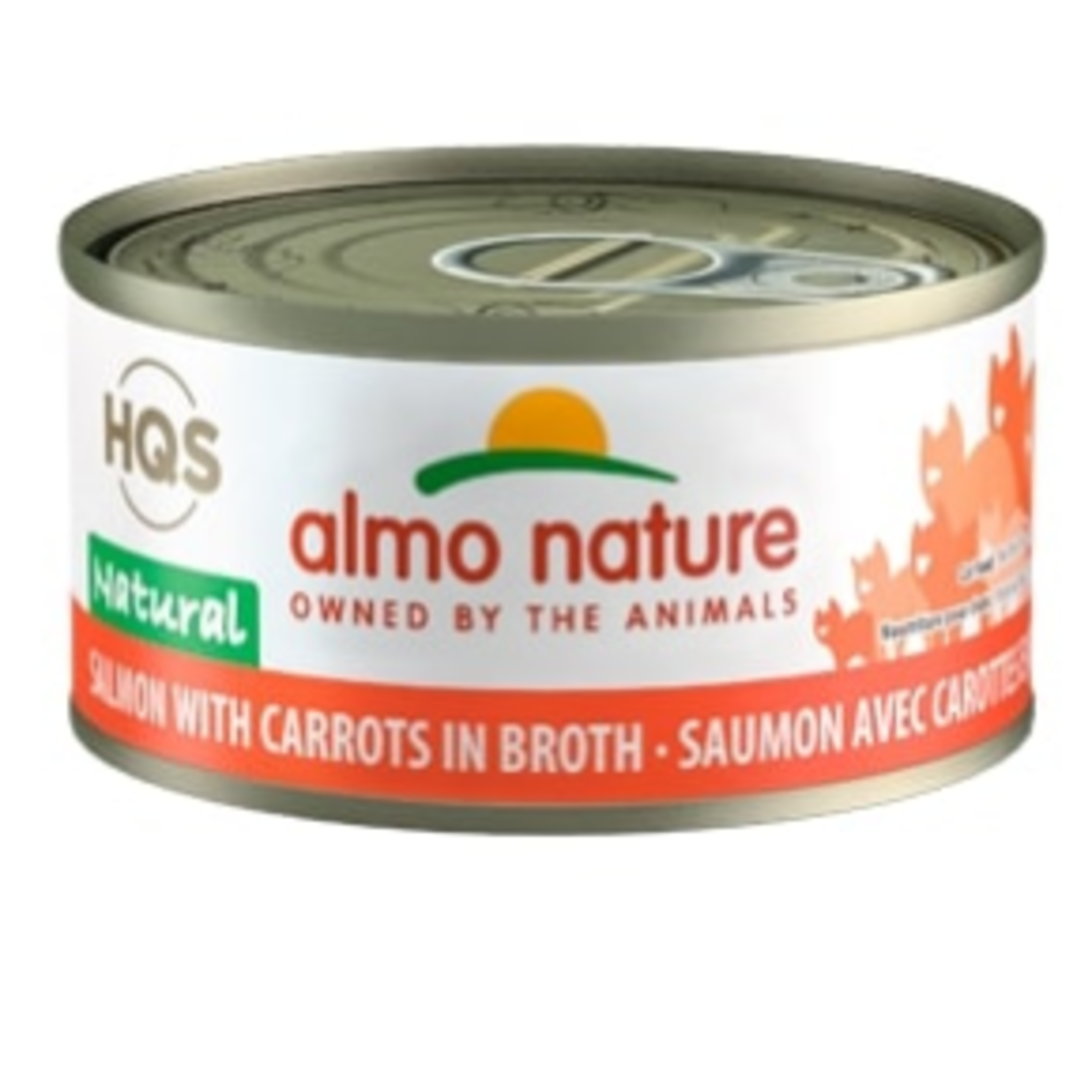 Almo Salmon with Carrots in Broth - 70 g