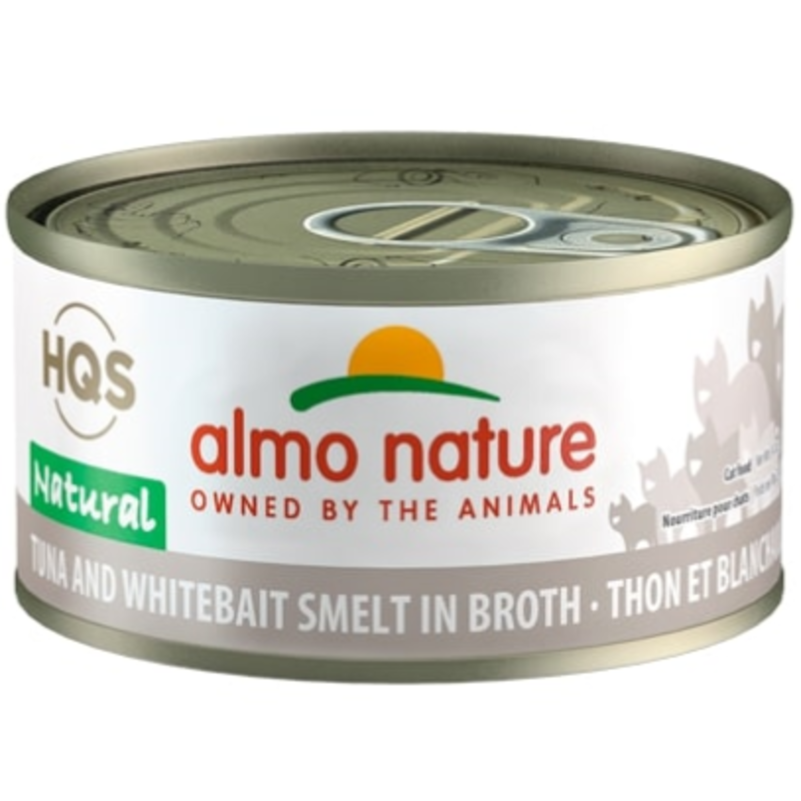 Almo Thon et éperlan en bouillon - 70 g