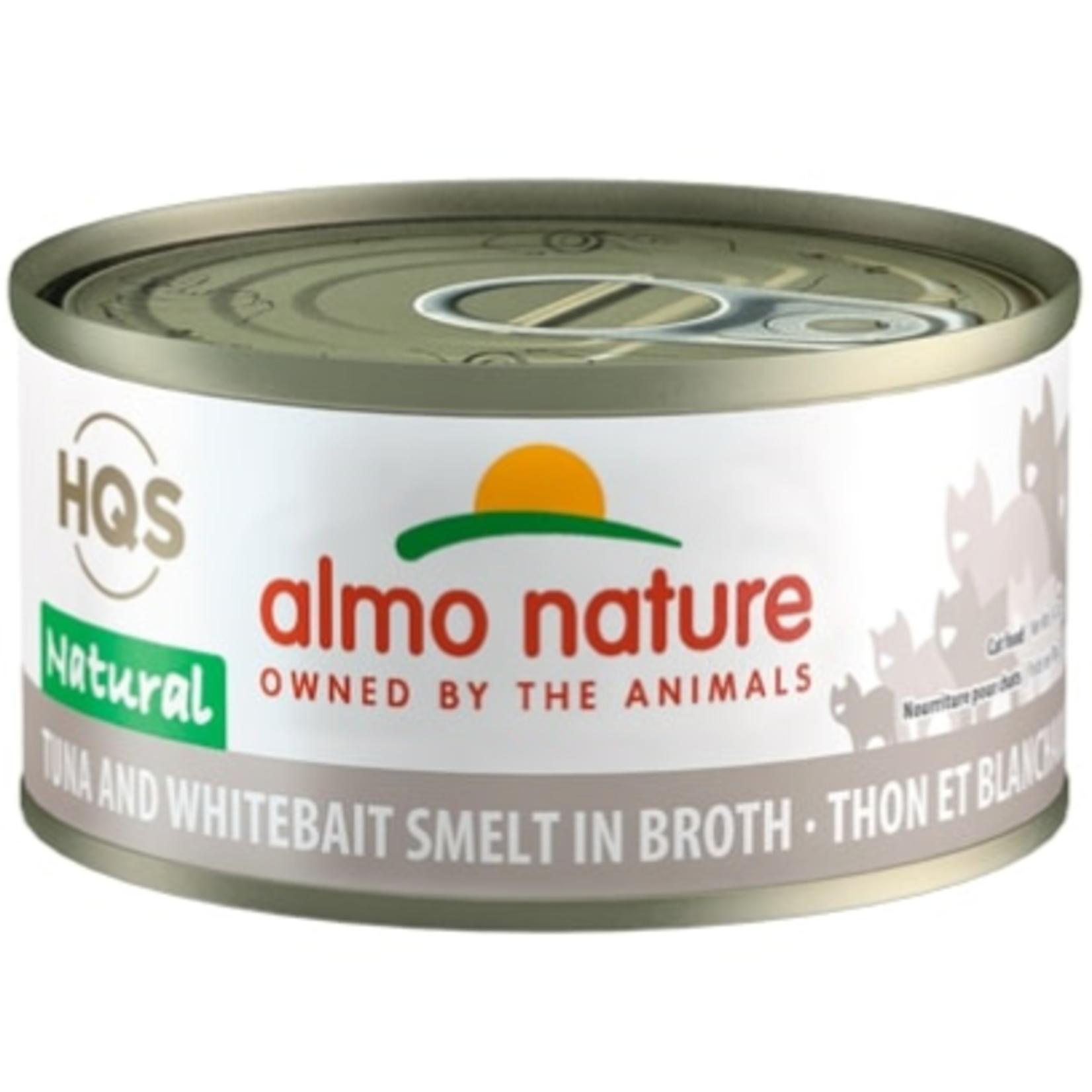 Almo Tuna and Whitebait Smelt in broth -70 g