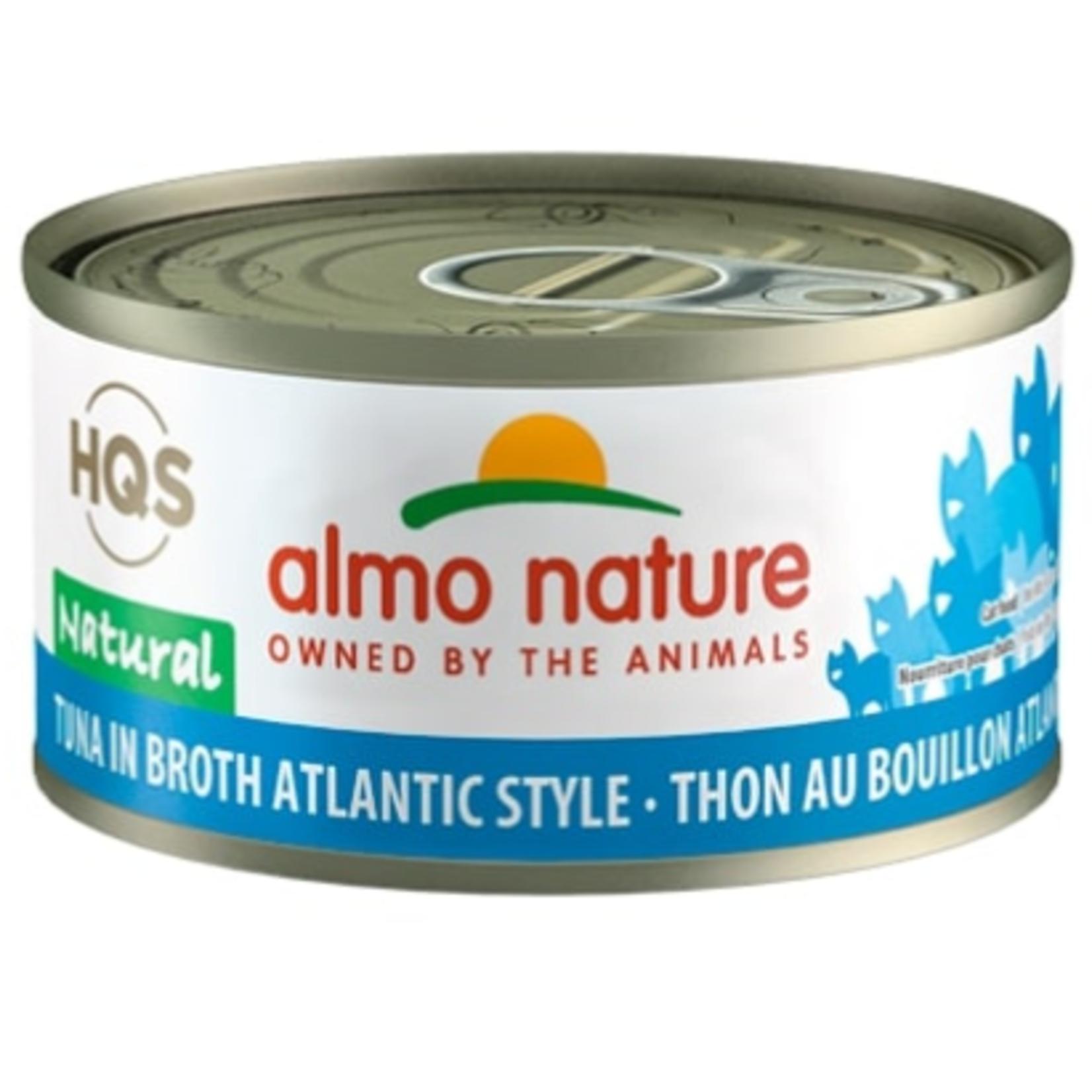 Almo HQS Natural-Tuna in Broth Atlantic Style-70g