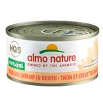 Almo Thon aux Crevettes au Bouillon - 70 g