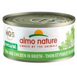Almo Tuna and Chicken in Broth - 70 g