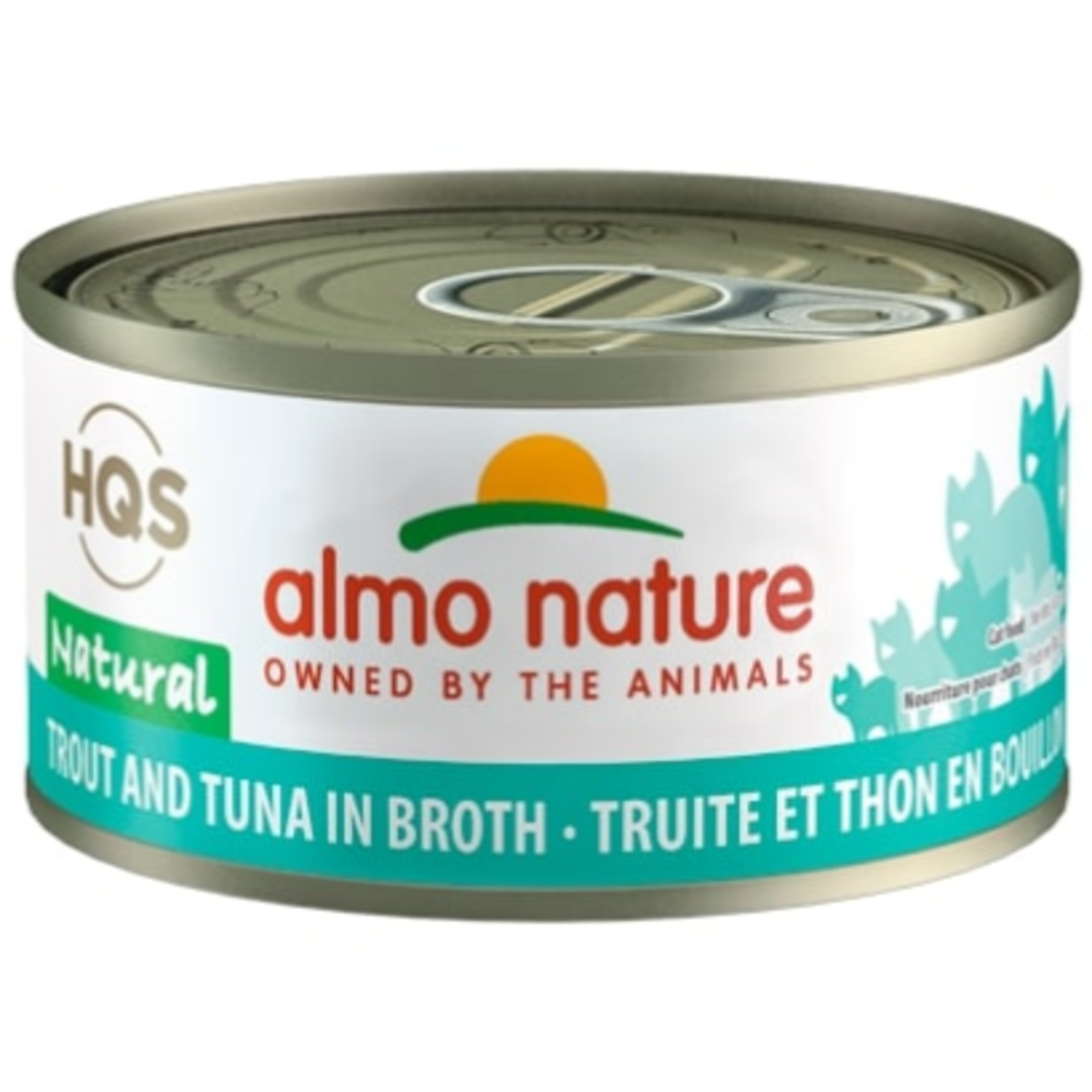 Almo Trout and Tuna in broth - 70 g