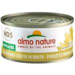 Almo Poulet au Fromage en Bouillon - 70 g