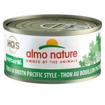 Almo Thon en Bouillon Style Pacifique - 70 g