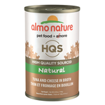 Almo HQS Natural - Tuna and Cheese in Broth - 140g