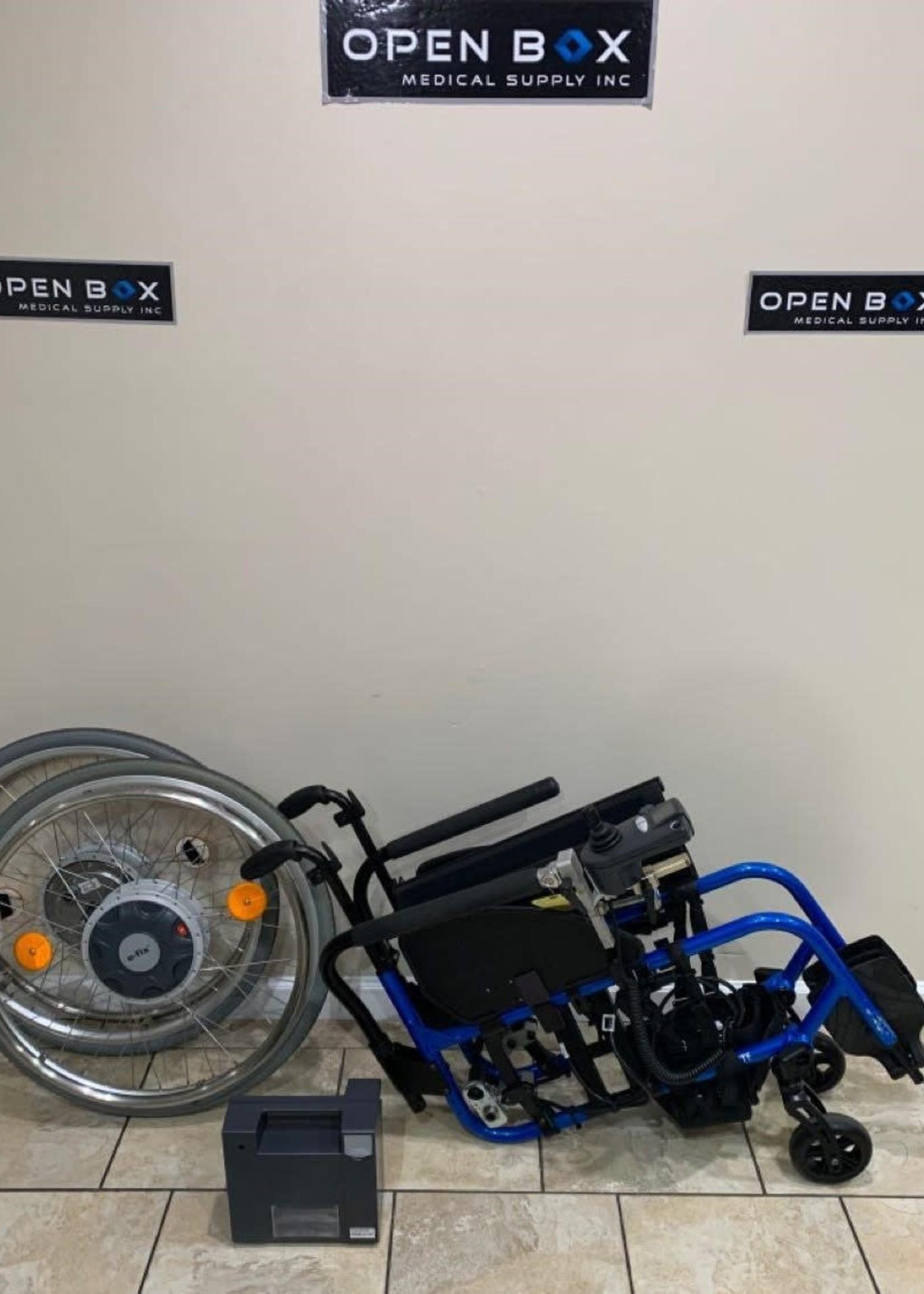 Alber USA TiLite Aero X With E-Fix E25 Power Assist Wheels (Used)