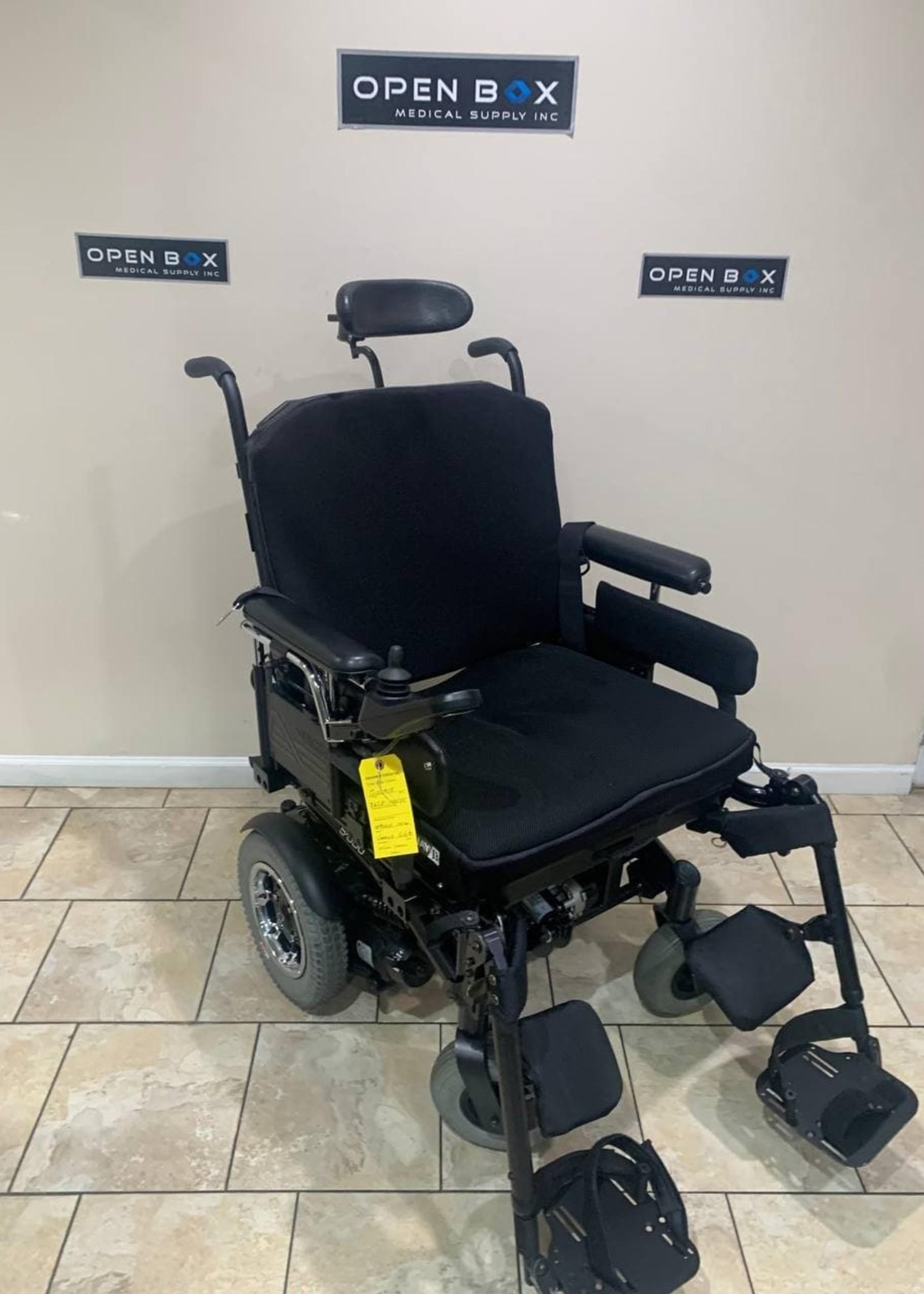 Sunrise Medical Quickie S-636 Heavy Duty Power Tilt Wheelchair (Used)